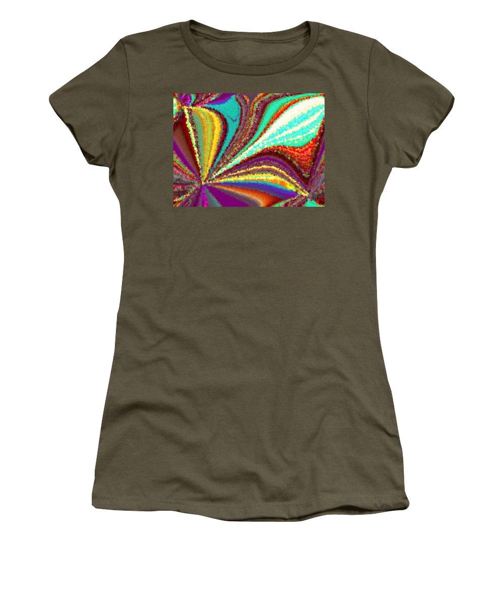 New Women's T-Shirt featuring the digital art New Beginning by Tim Allen