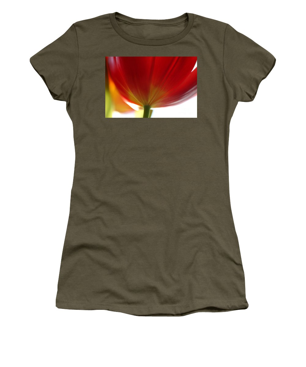Tulip Women's T-Shirt featuring the photograph New Day by Amanda Barcon
