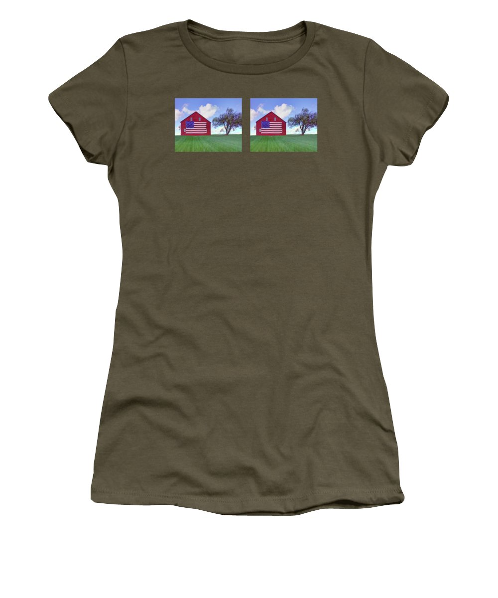 Old Red Barn Women's T-Shirts
