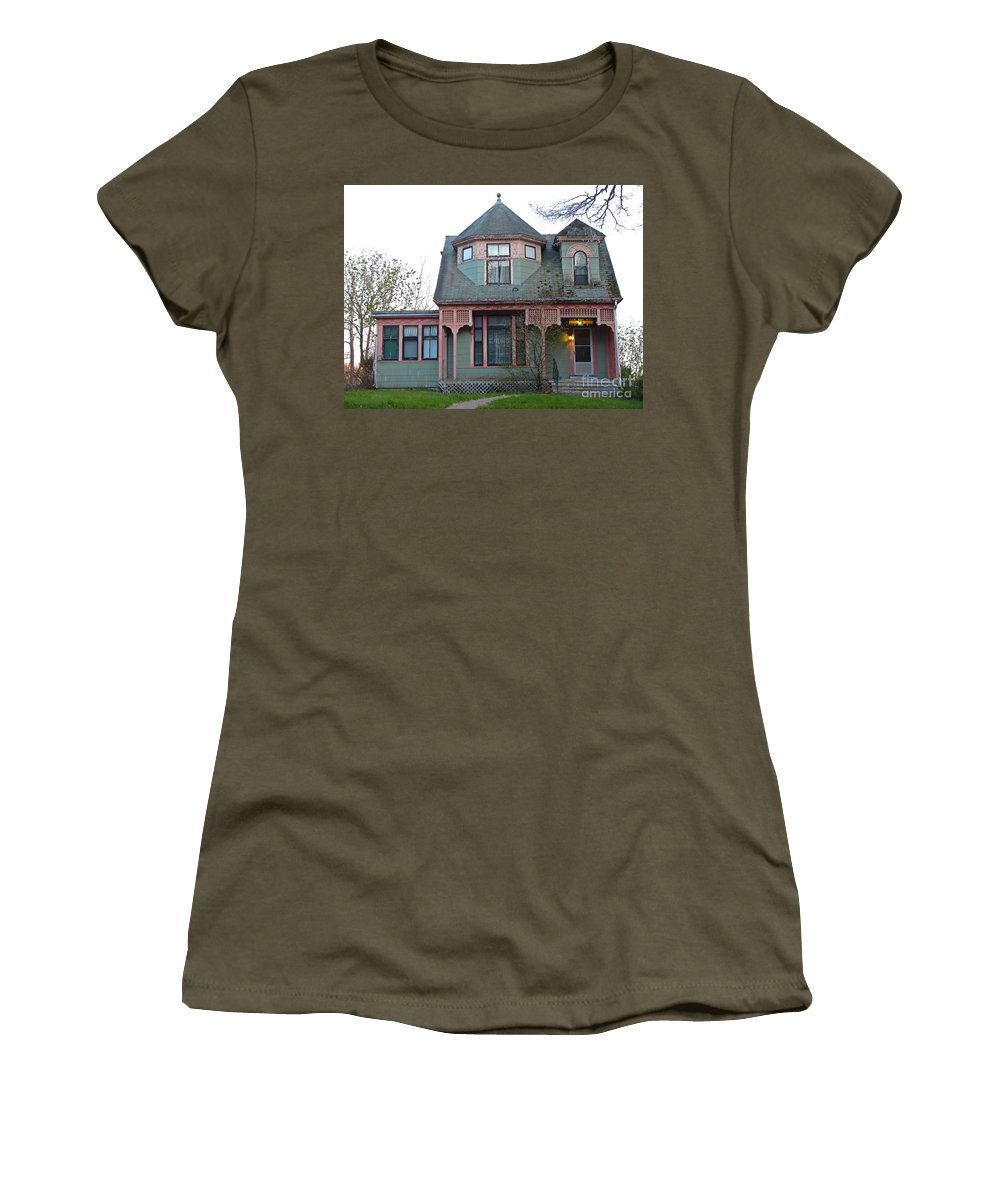 Old House Women's T-Shirt featuring the photograph Old House by John Malone