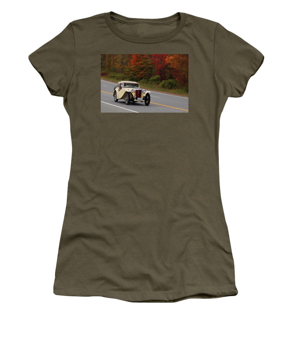 Mg Women's T-Shirt featuring the photograph Old Yeller 8168 by Guy Whiteley