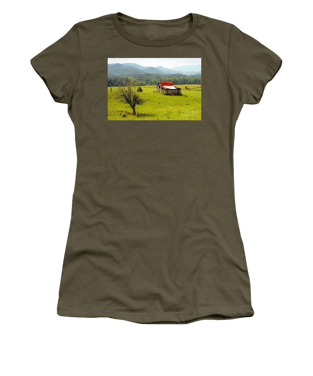 Farm Women's T-Shirt featuring the photograph Once Upon A Time by David Lee Thompson