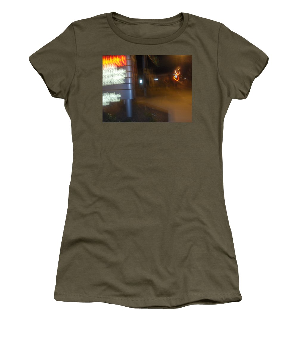 Photograph Women's T-Shirt featuring the photograph One Way by Thomas Valentine