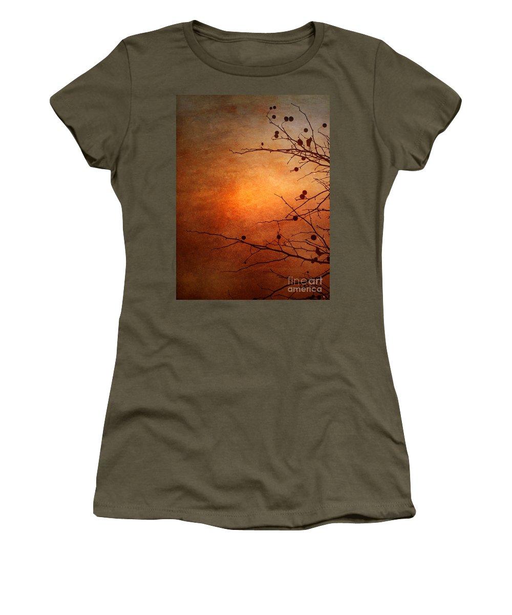 Orange Women's T-Shirt featuring the photograph Orange Simplicity by Tara Turner