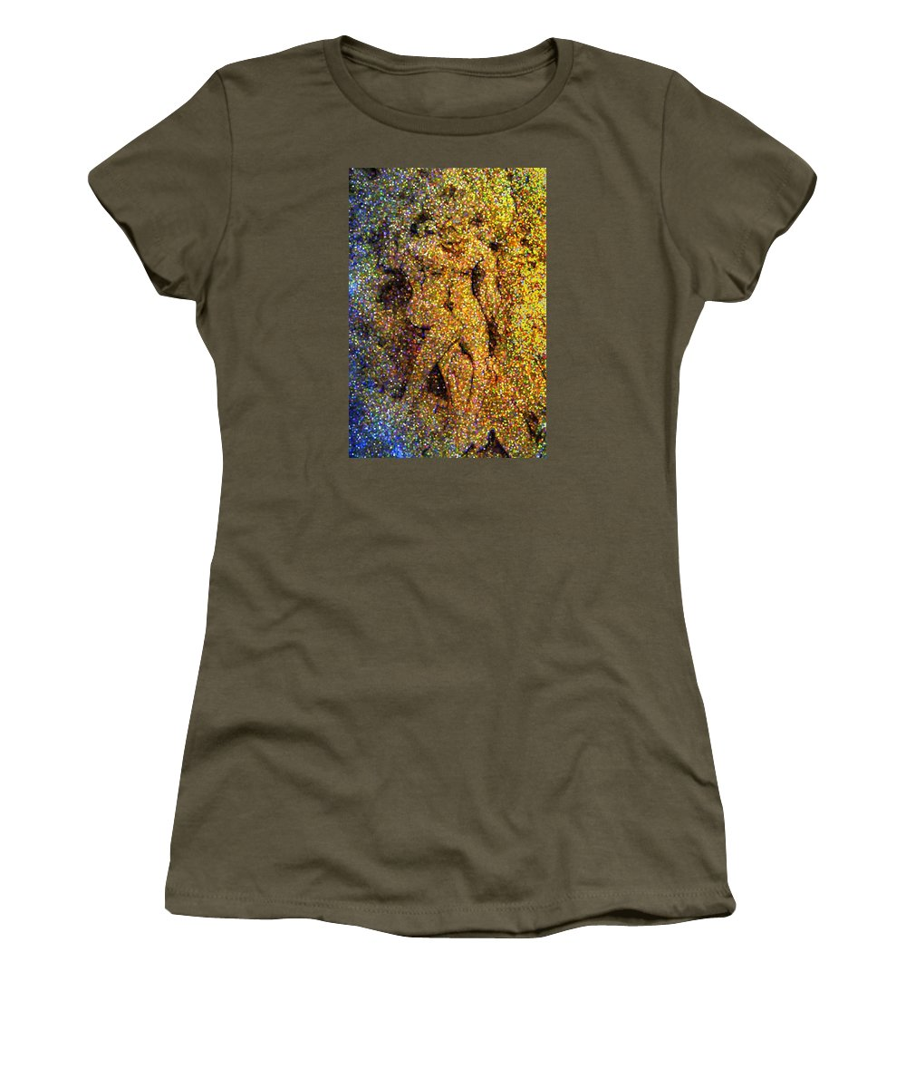 Abstract Women's T-Shirt featuring the digital art Out Of Eden by Dave Martsolf