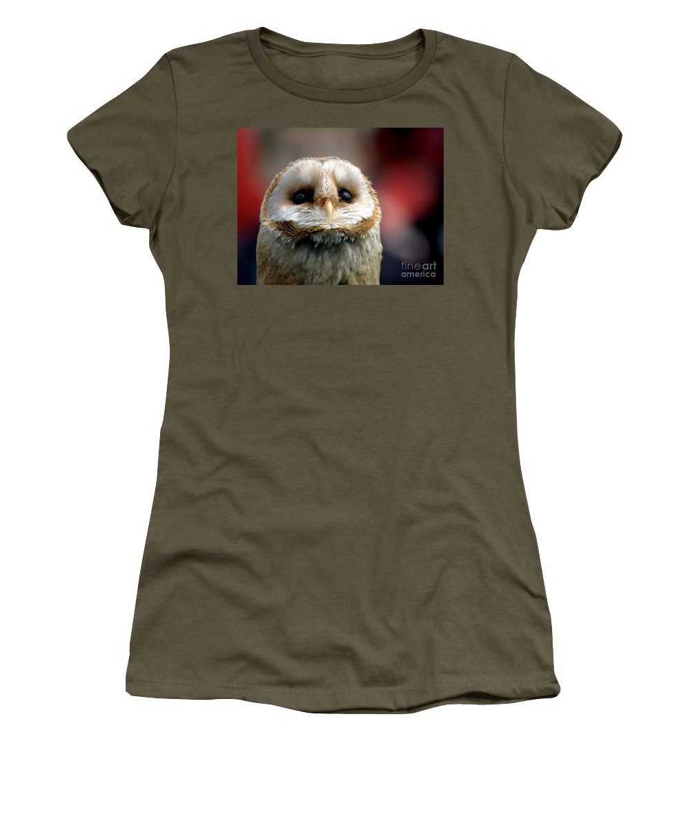 Wildlife Women's T-Shirt (Athletic Fit) featuring the photograph Please by Jacky Gerritsen