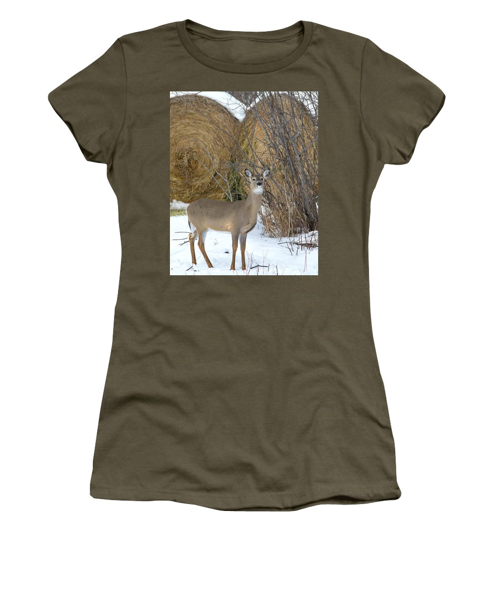 Nature Women's T-Shirt featuring the photograph Pretty Lady by Crystal Massop
