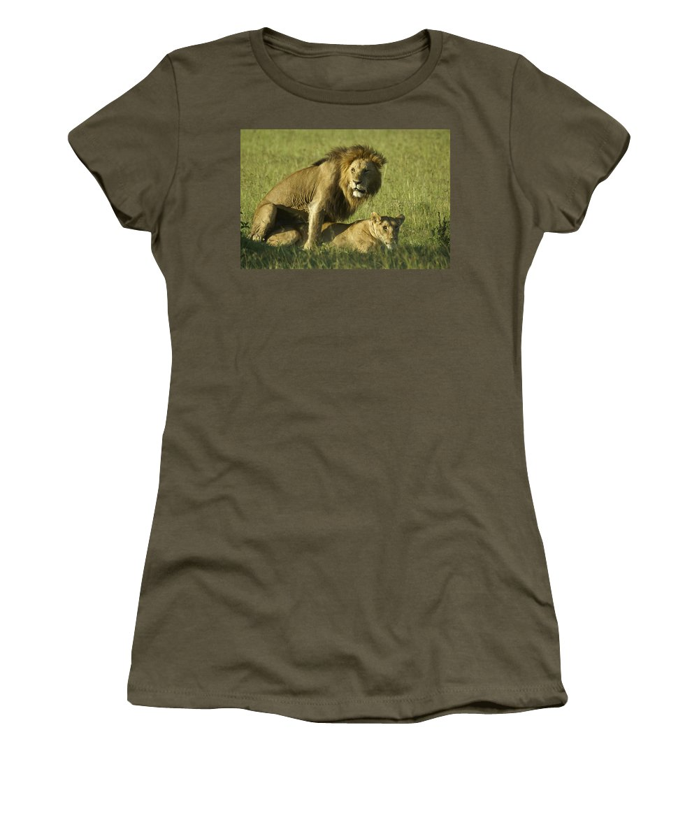 Africa Women's T-Shirt featuring the photograph Privacy Please by Michele Burgess