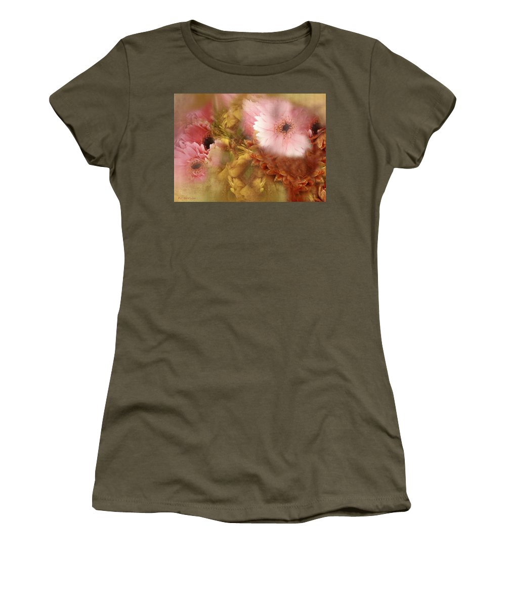 Dream Women's T-Shirt (Athletic Fit) featuring the painting Promises And Dreams by RC DeWinter