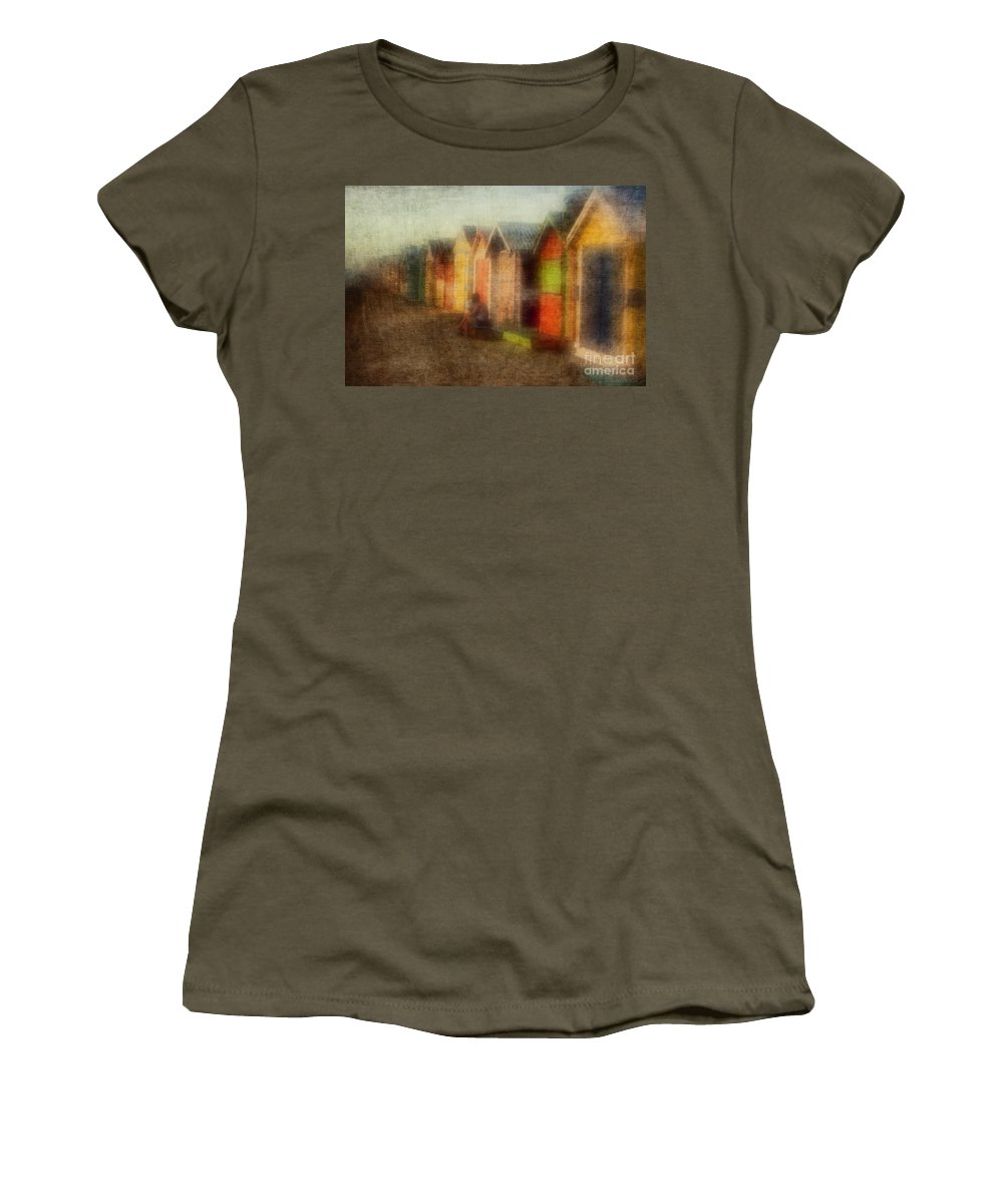 Brighton Women's T-Shirt featuring the photograph Protection by Andrew Paranavitana