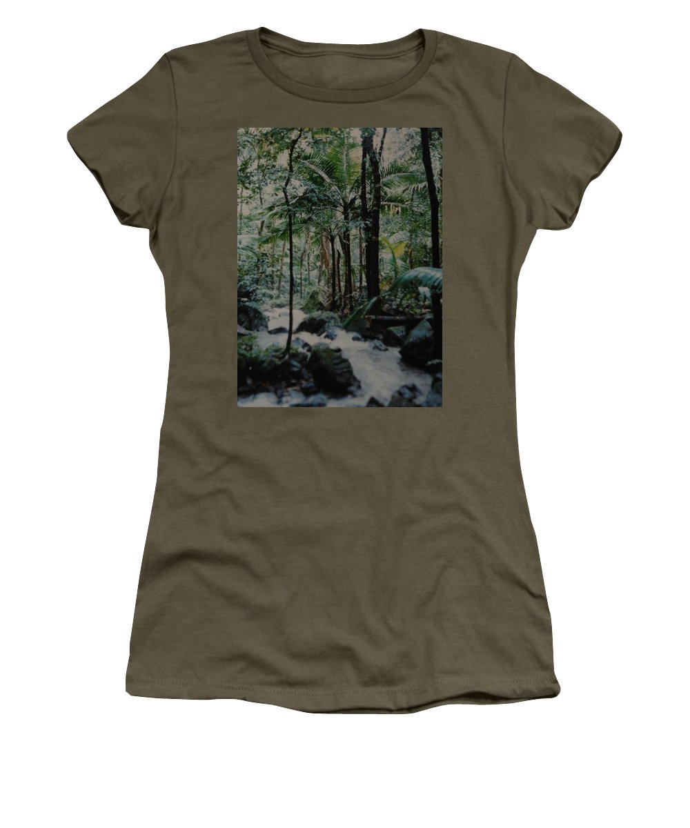 Trees Women's T-Shirt featuring the photograph Puerto Rico by Rob Hans