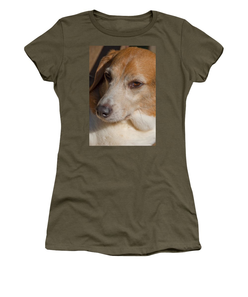 Photography Women's T-Shirt featuring the photograph Puppum by Steven Natanson