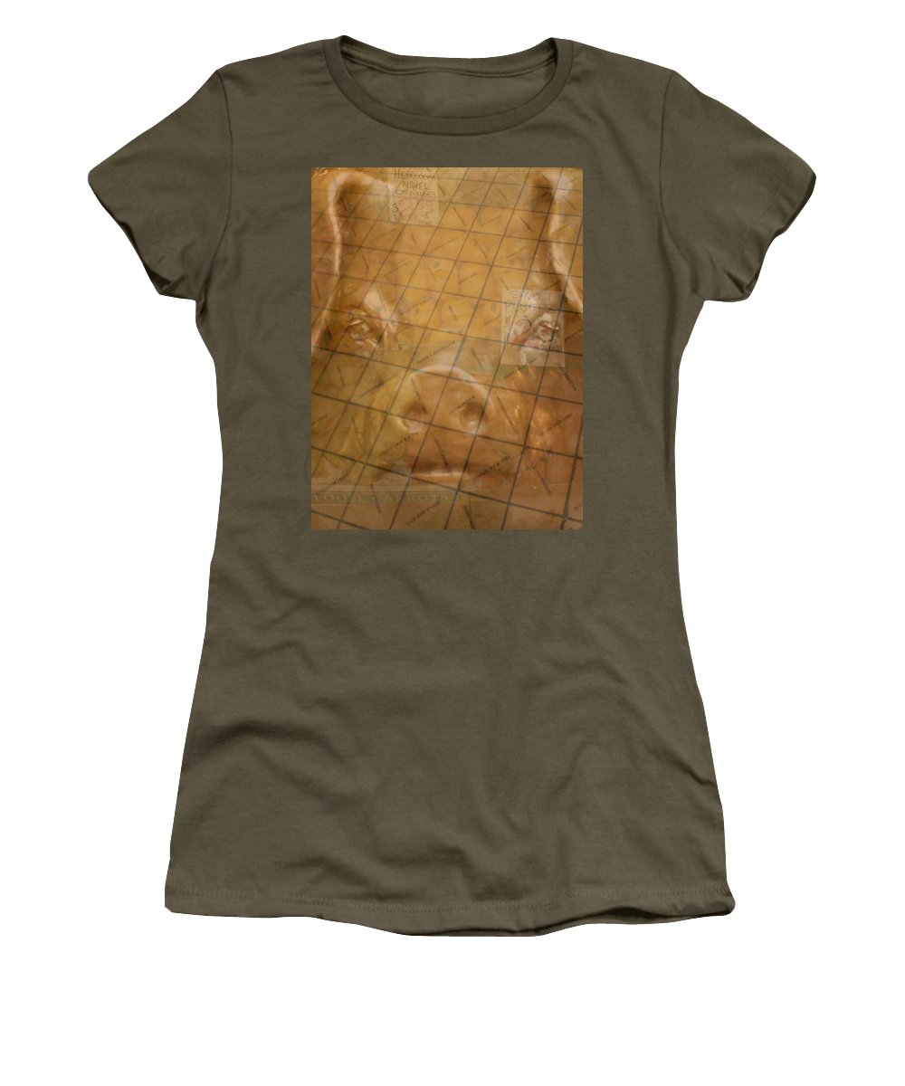 Seattle Women's T-Shirt featuring the photograph Rachael And The Market Tiles by Tim Allen