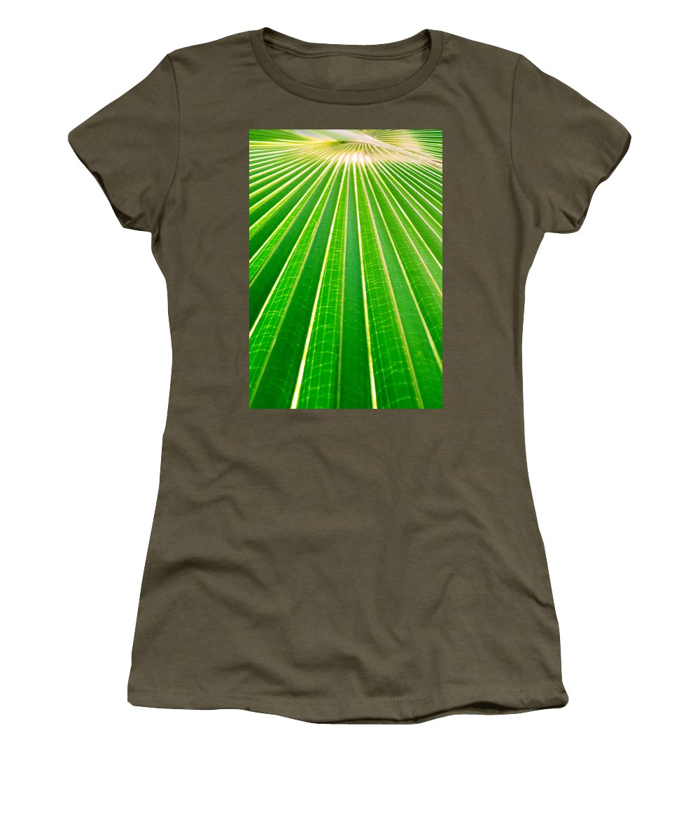 Nature Women's T-Shirt (Athletic Fit) featuring the photograph Reaching Out by Holly Kempe
