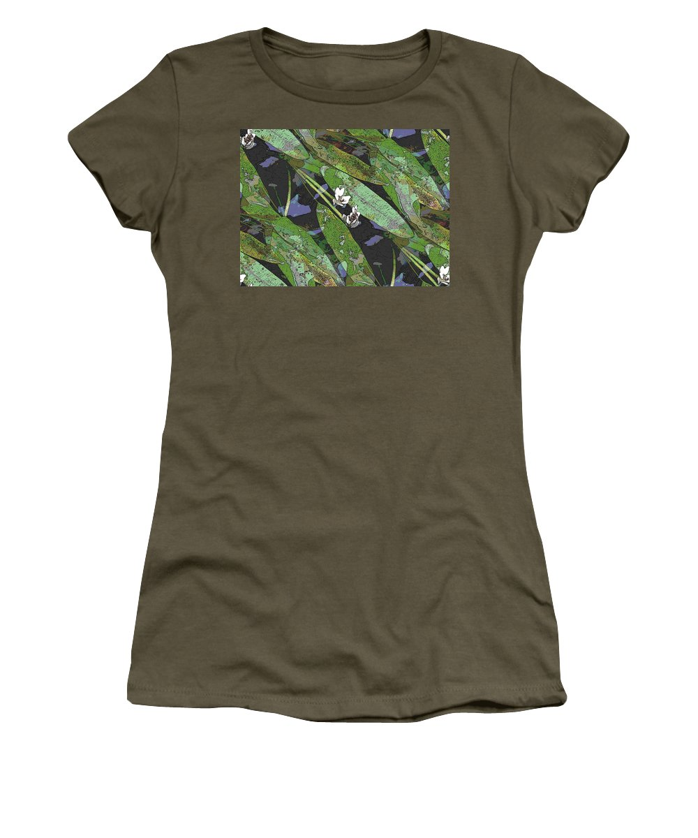 Reflecting Pool Women's T-Shirt featuring the photograph Reflecting Pool by Tim Allen