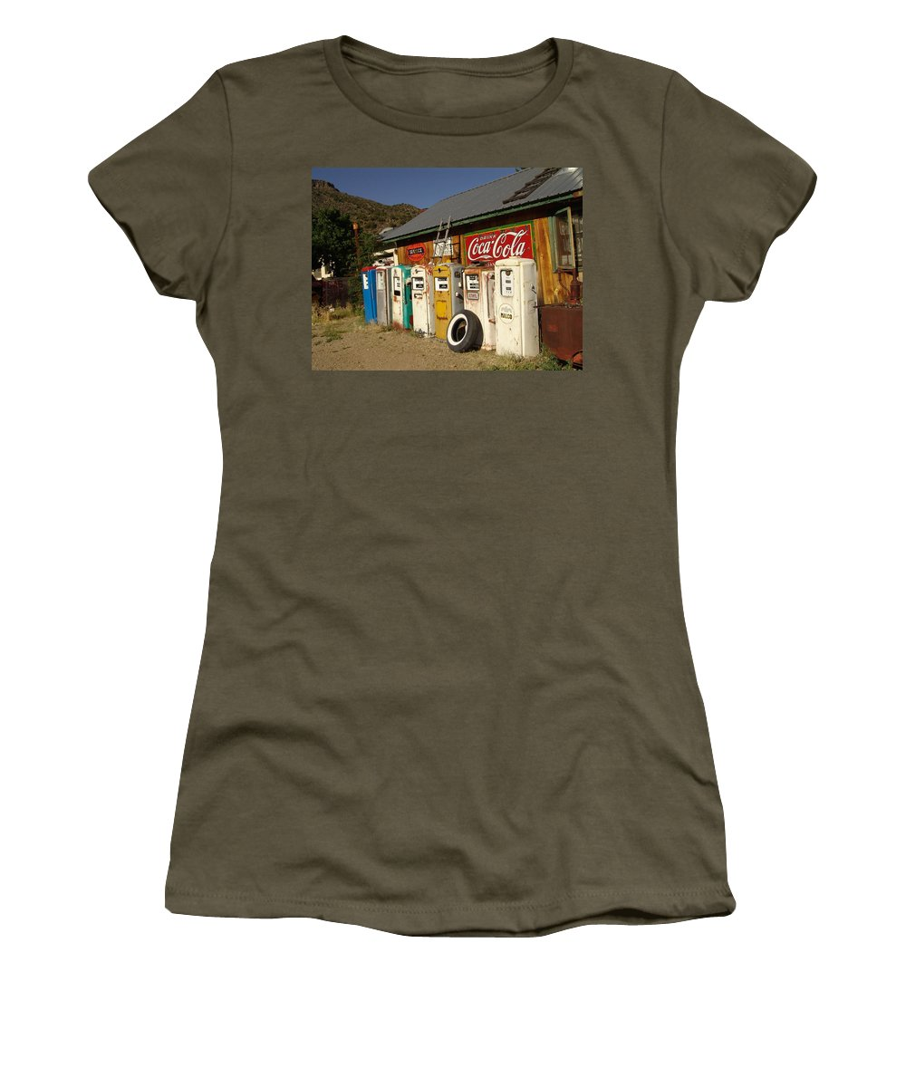 Auto Women's T-Shirt featuring the photograph Remember When by Carol Milisen