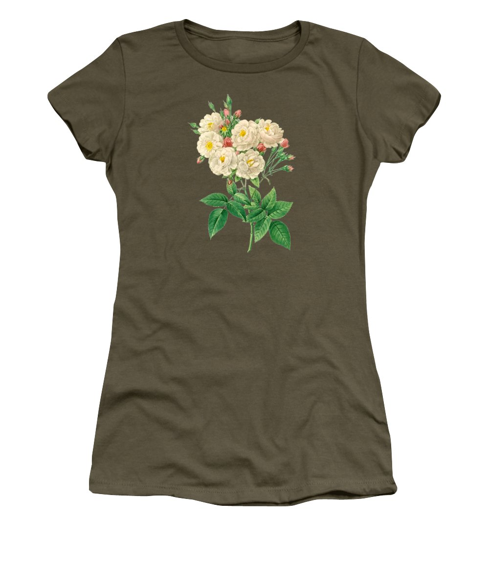 Rose Women's T-Shirt featuring the painting Rose126 by The one eyed Raven