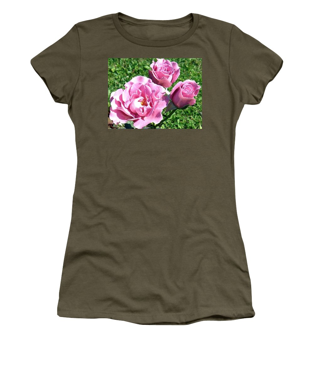 Roses Women's T-Shirt featuring the photograph Roses 6 by Will Borden