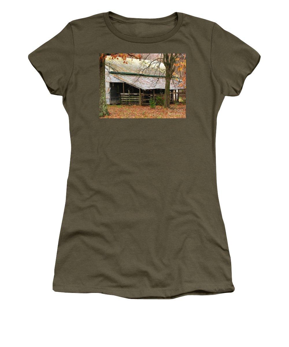 Rural Women's T-Shirt featuring the photograph Rural by Amanda Barcon