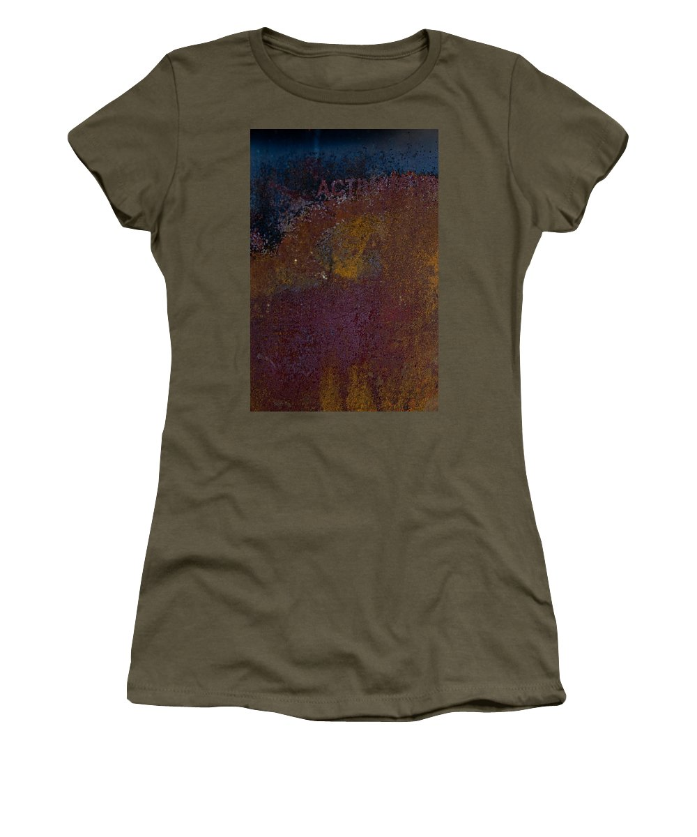 Rust Women's T-Shirt featuring the photograph Rusted by Hannah Breidenbach
