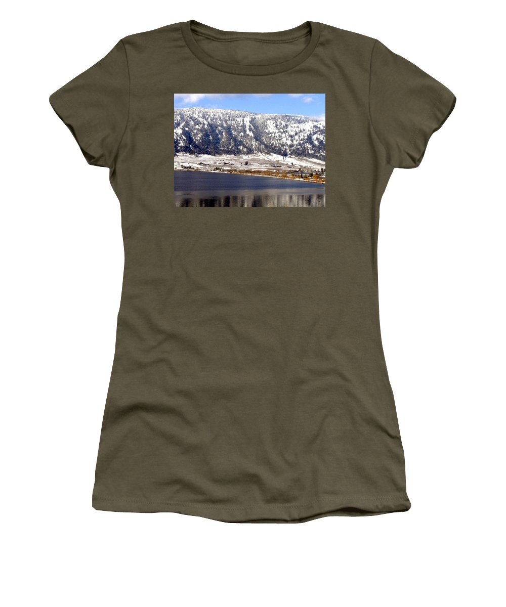 Oyama Women's T-Shirt featuring the photograph Scenic Oyama by Will Borden