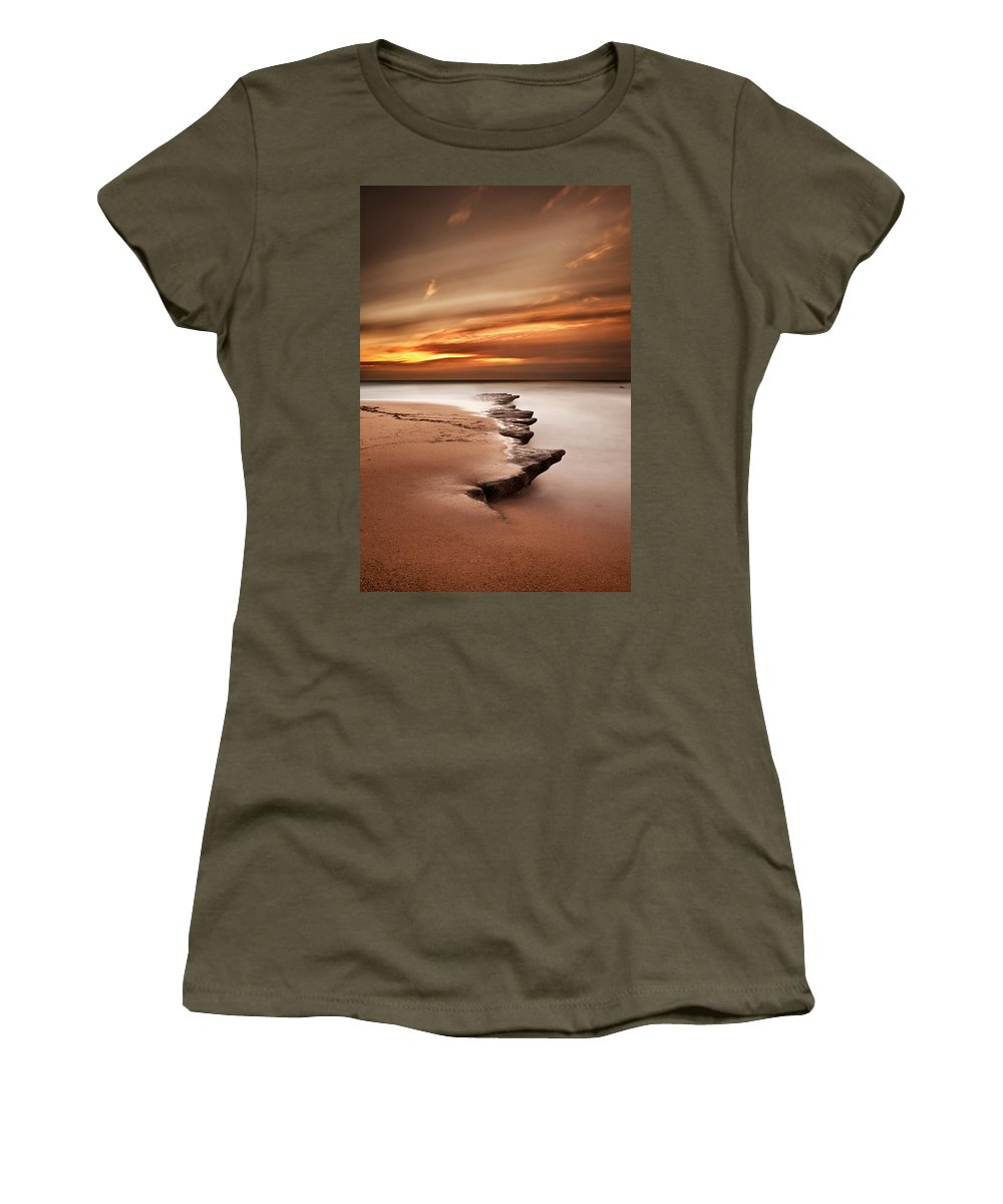 Jorgemaiaphotographer Women's T-Shirt featuring the photograph Seashore Wonders by Jorge Maia