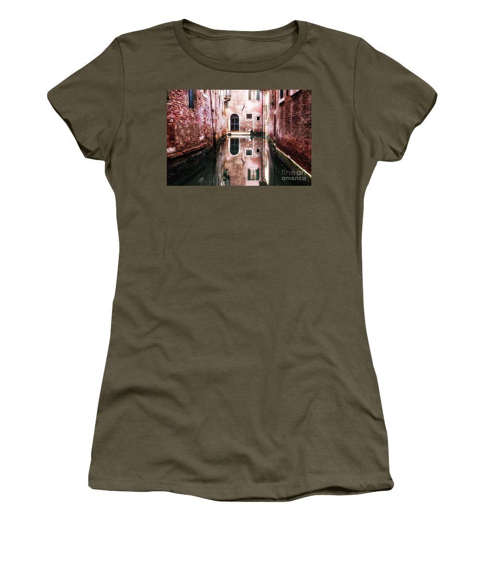 Secluded Women's T-Shirt featuring the photograph Secluded Venice by Miles Whittingham