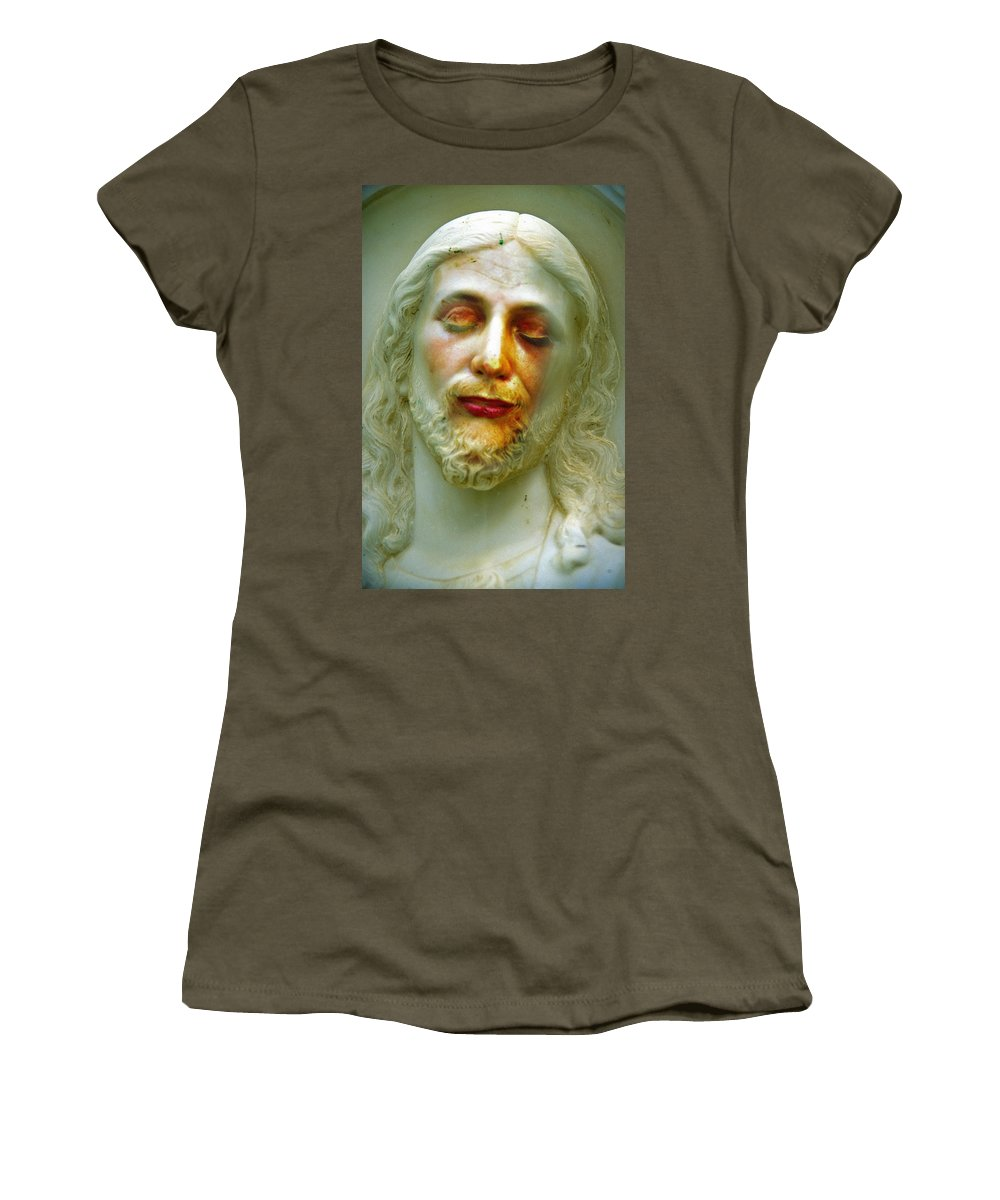 Jesus Women's T-Shirt featuring the photograph Shesus by Skip Hunt
