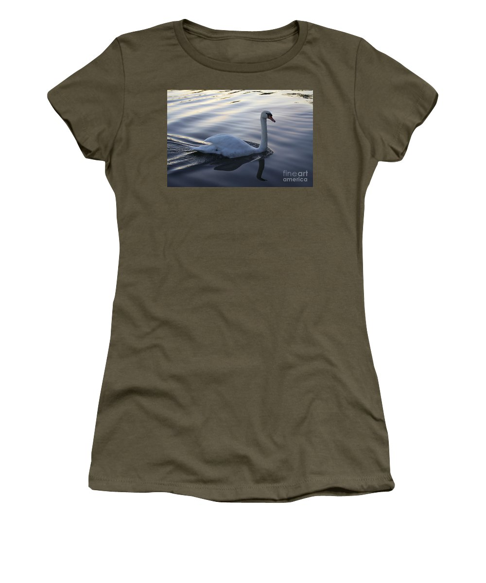 Sesto Salende Women's T-Shirt (Athletic Fit) featuring the photograph Sliting The Dream by Donato Iannuzzi