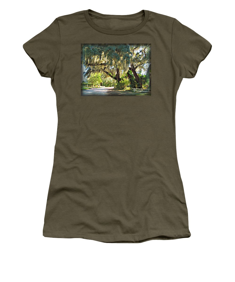 Orlando Women's T-Shirt featuring the photograph Southern Pathway by Joan Minchak