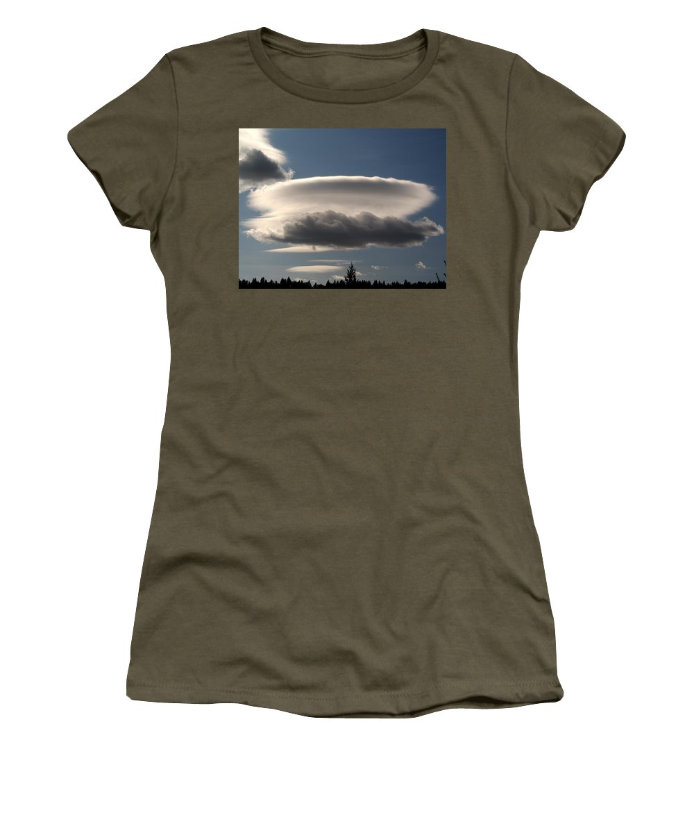 Nature Women's T-Shirt featuring the photograph Spacecloud by Ben Upham III