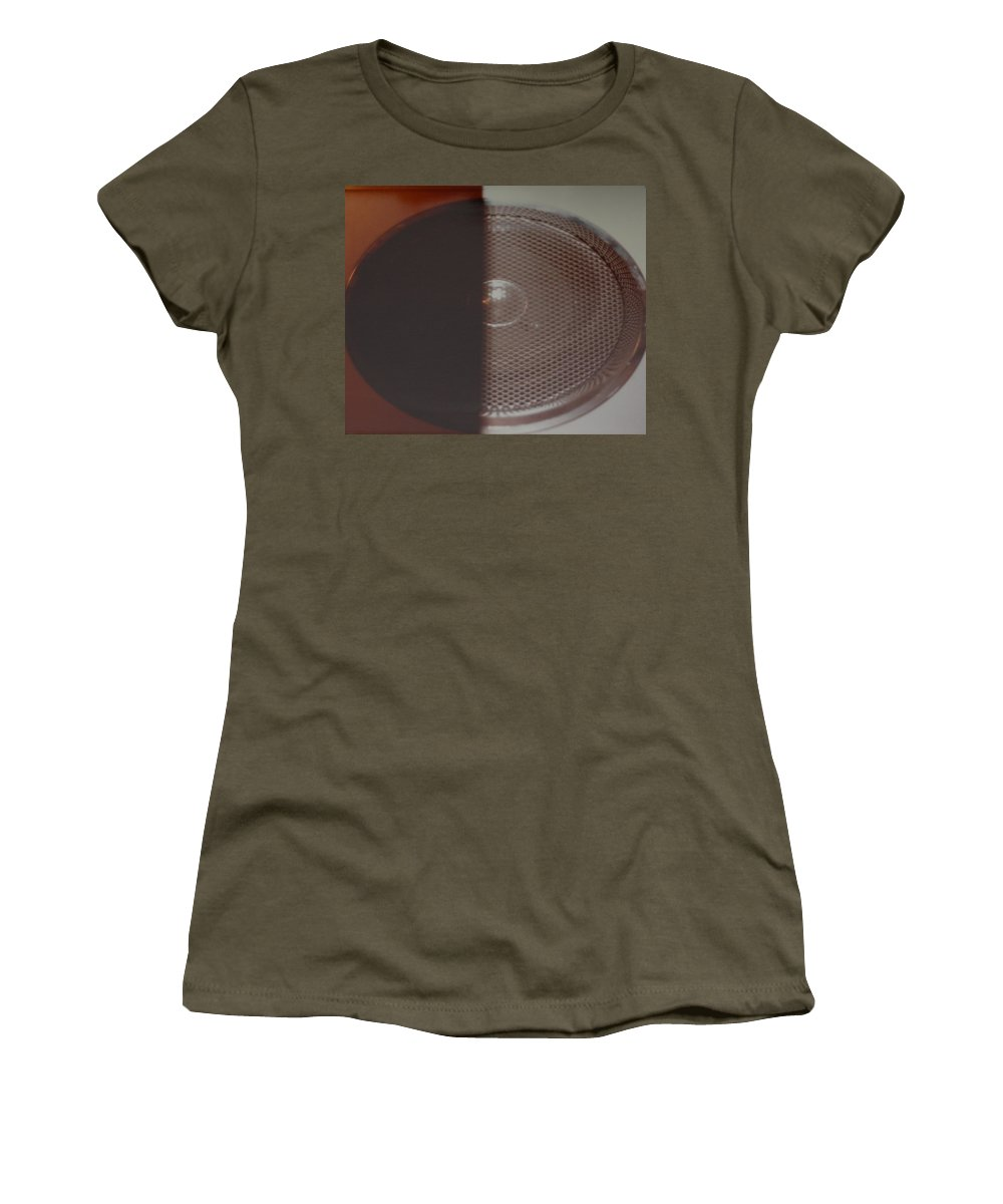 Abstract Women's T-Shirt featuring the photograph Speaker by Rob Hans