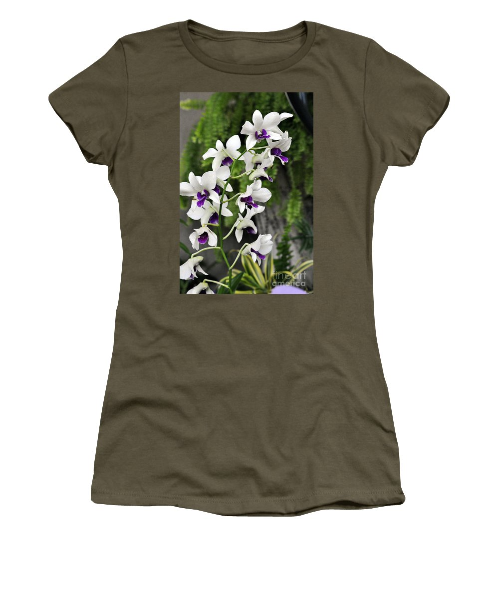 Clay Women's T-Shirt (Athletic Fit) featuring the photograph Spray by Clayton Bruster
