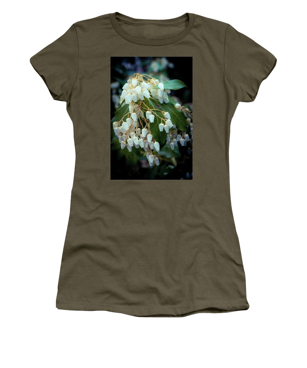 Spring Women's T-Shirt (Athletic Fit) featuring the photograph Spring Bloom by Lilia D