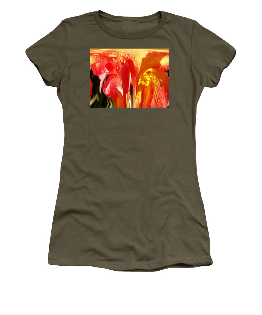 Flowers Women's T-Shirt featuring the photograph Succulence by Tim Allen