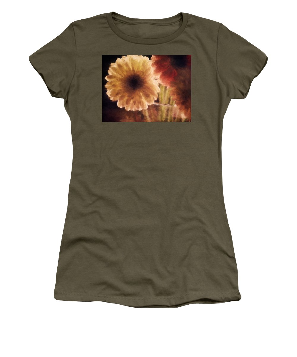 Flowers Women's T-Shirt featuring the photograph Summer Love X by Tina Baxter