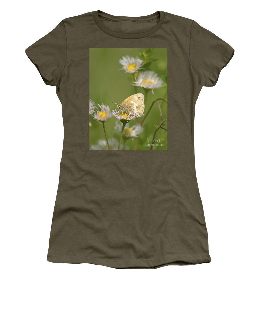 Nina Stavlund Women's T-Shirt featuring the photograph Summer Moment.. by Nina Stavlund