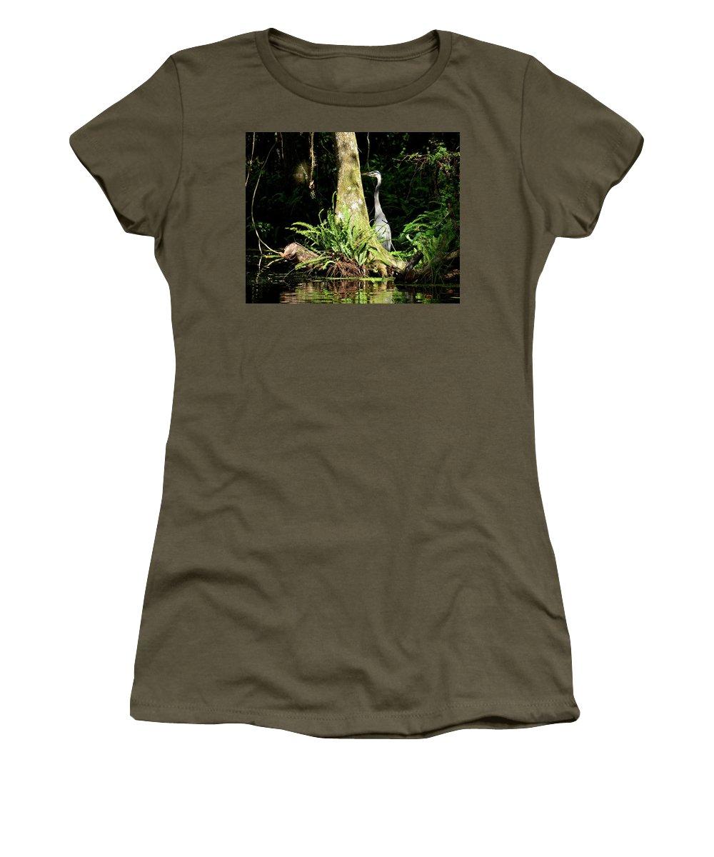 Sunshine Women's T-Shirt featuring the photograph Sunshine Makes Me Happy by Carol Bradley