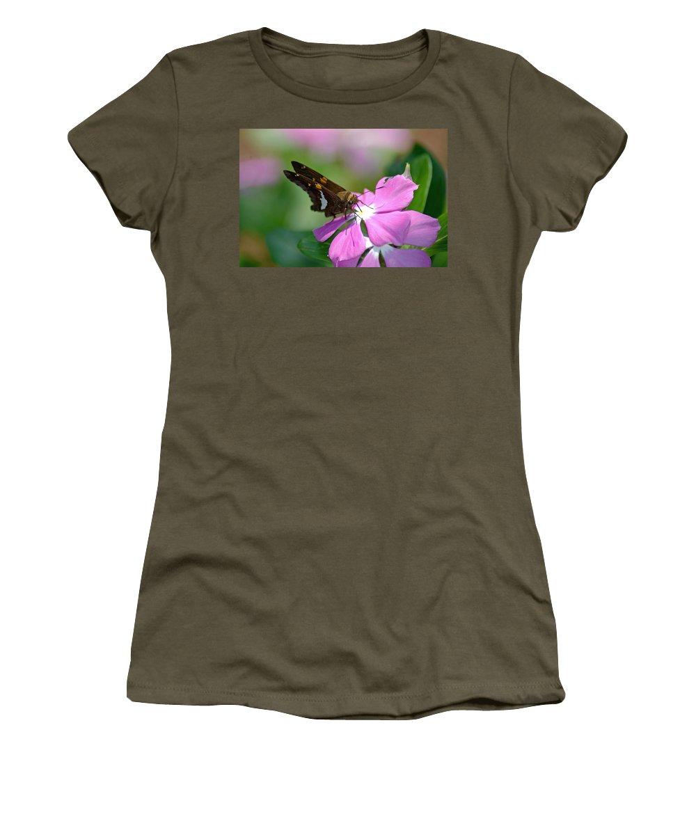 Flower Women's T-Shirt featuring the photograph Sweet Desert by Donna Bentley