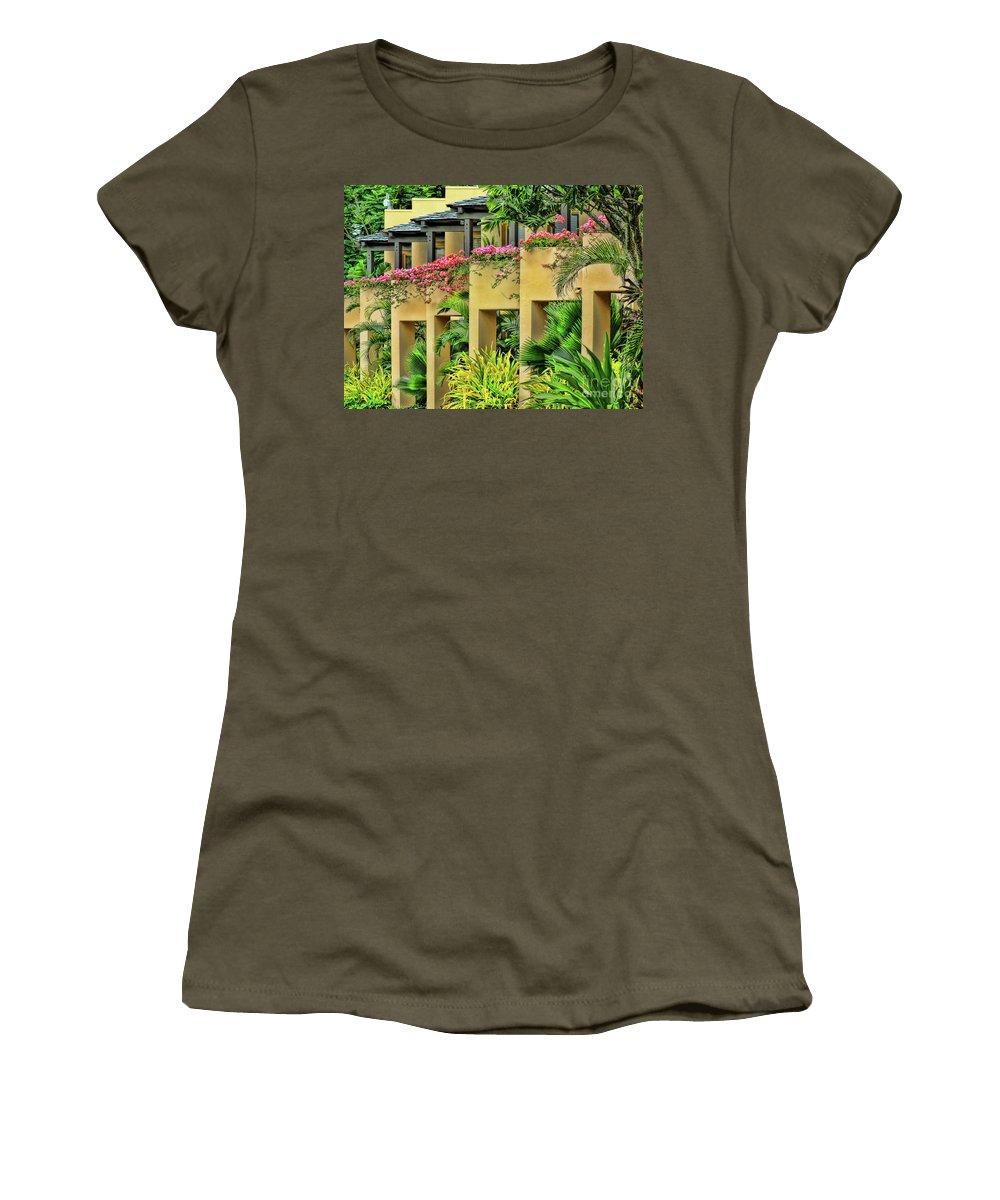 Fiji Women's T-Shirt featuring the photograph Symmetry by Karen Lewis