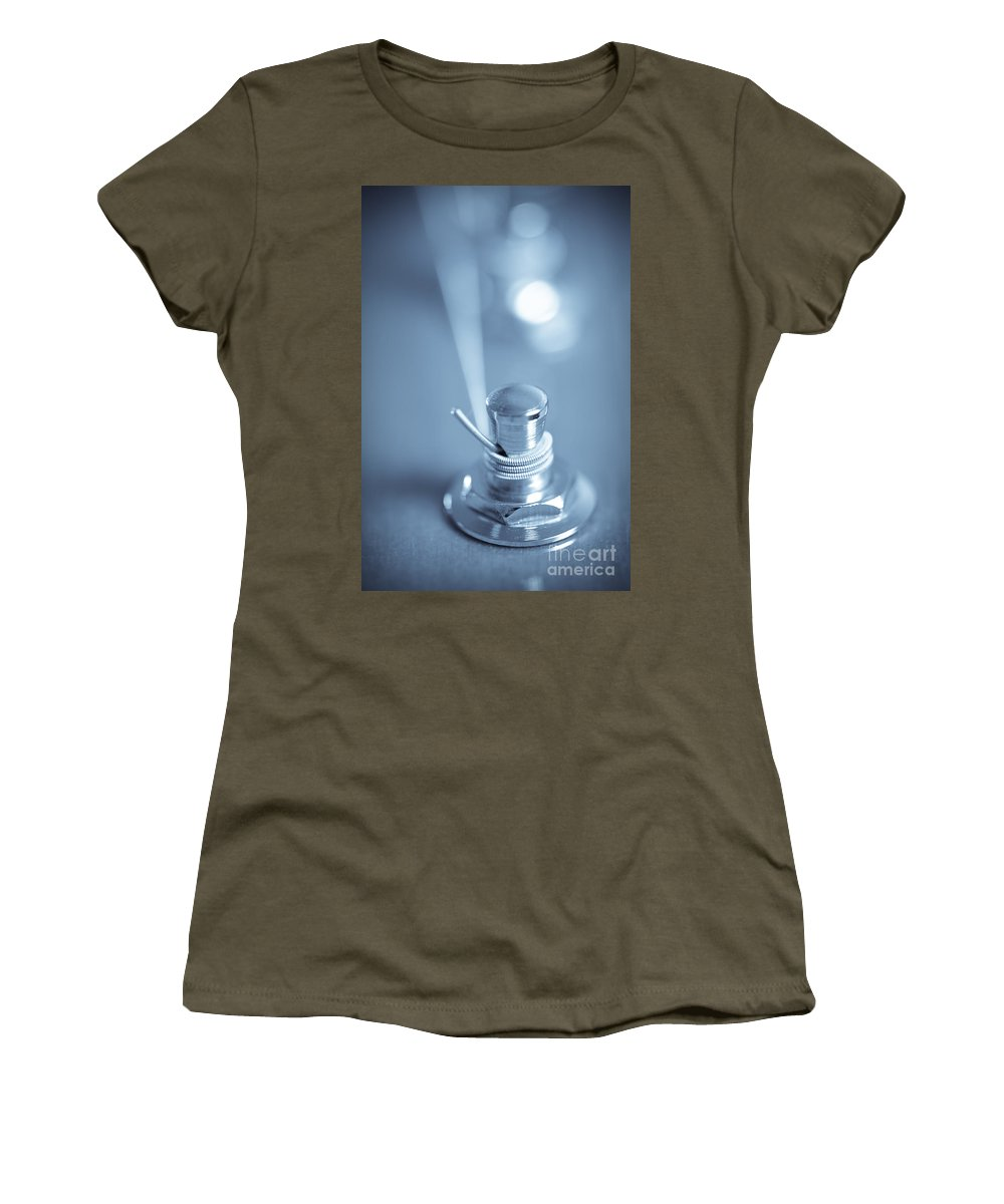 Tension Women's T-Shirt (Athletic Fit) featuring the photograph T E N S I O N by Charles Dobbs