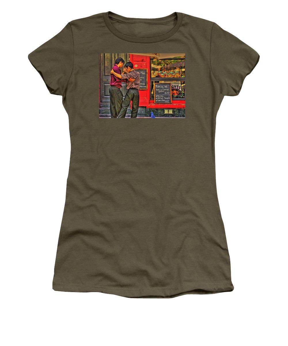 Tango Women's T-Shirt featuring the photograph Tango by Francisco Colon