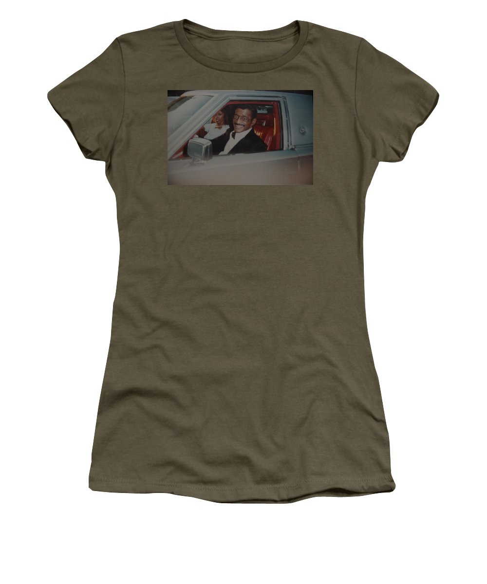 Movie Star Women's T-Shirt featuring the photograph The Candy Man by Rob Hans