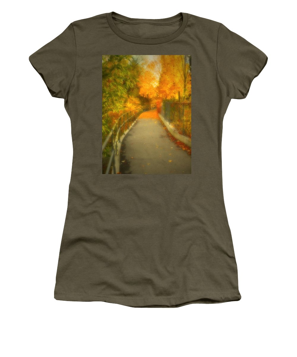 Colour Women's T-Shirt featuring the photograph The Colour Around The Corner by Tara Turner