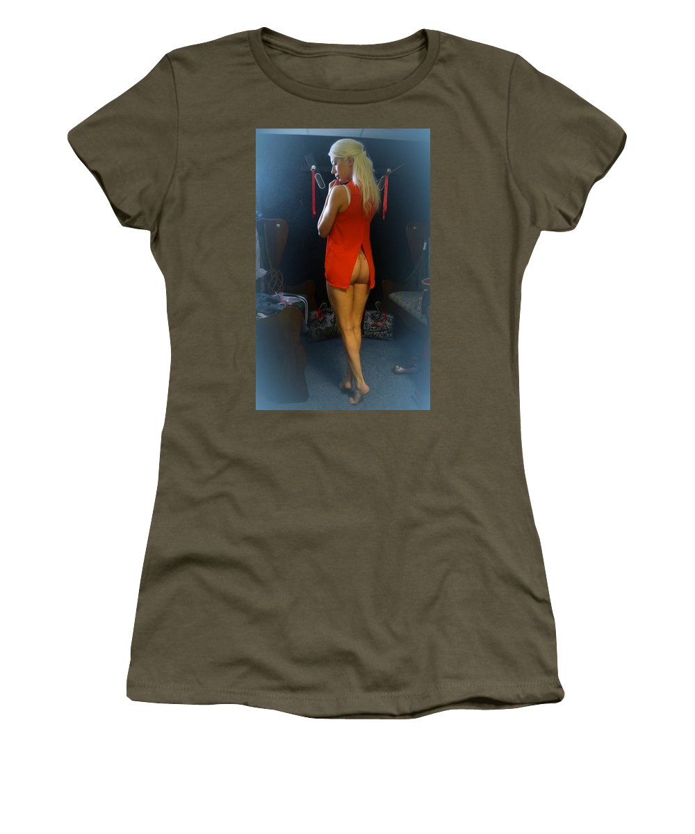 Women's T-Shirt featuring the photograph The Essence Of Charlotte by Asa Jones