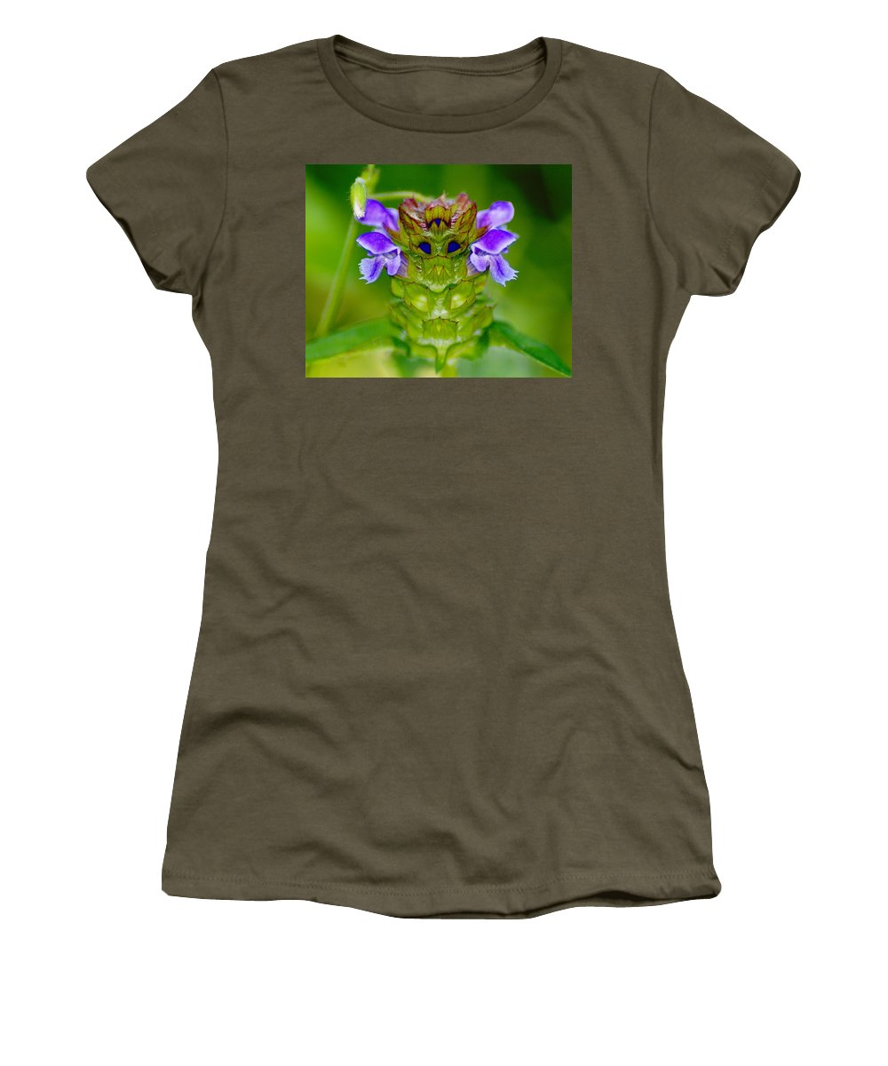 Nature Women's T-Shirt featuring the photograph The Flower King by Ben Upham III