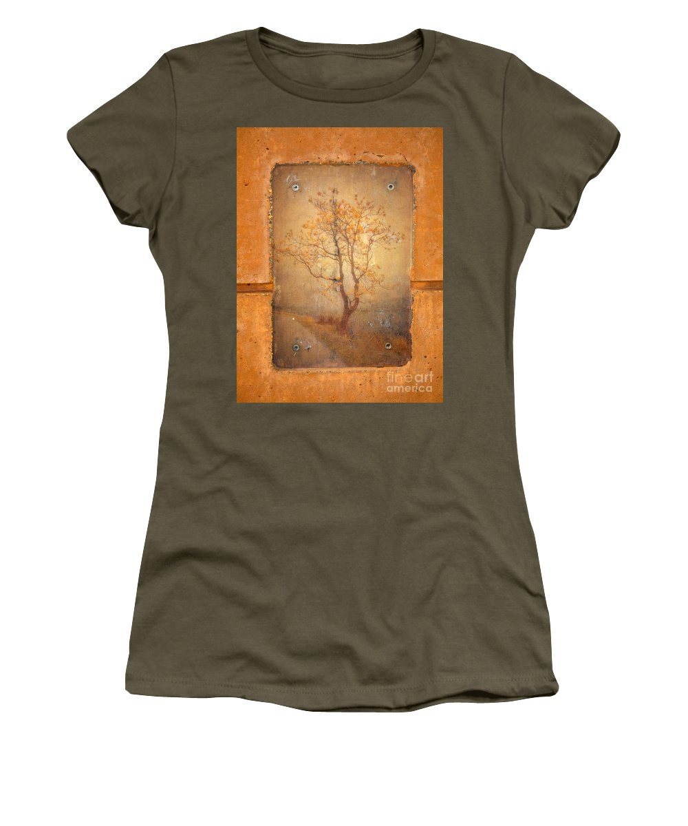 Tree Women's T-Shirt featuring the photograph The Last Tree by Tara Turner