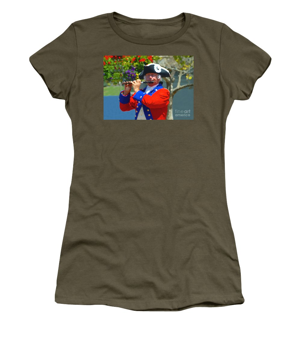 Patriot Women's T-Shirt featuring the photograph The Patriot by David Lee Thompson