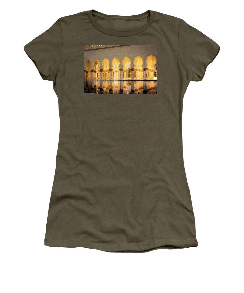 Water Women's T-Shirt featuring the photograph The Pool by Andrew Matwijec
