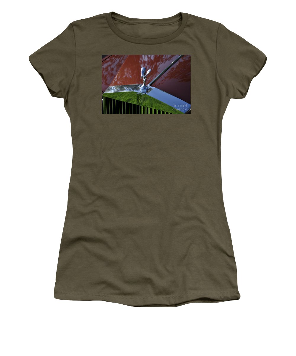 Clay Women's T-Shirt (Athletic Fit) featuring the photograph The Rolls by Clayton Bruster